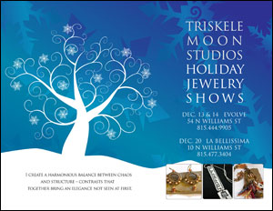 2008 Triskele Moon Studios holiday flyer